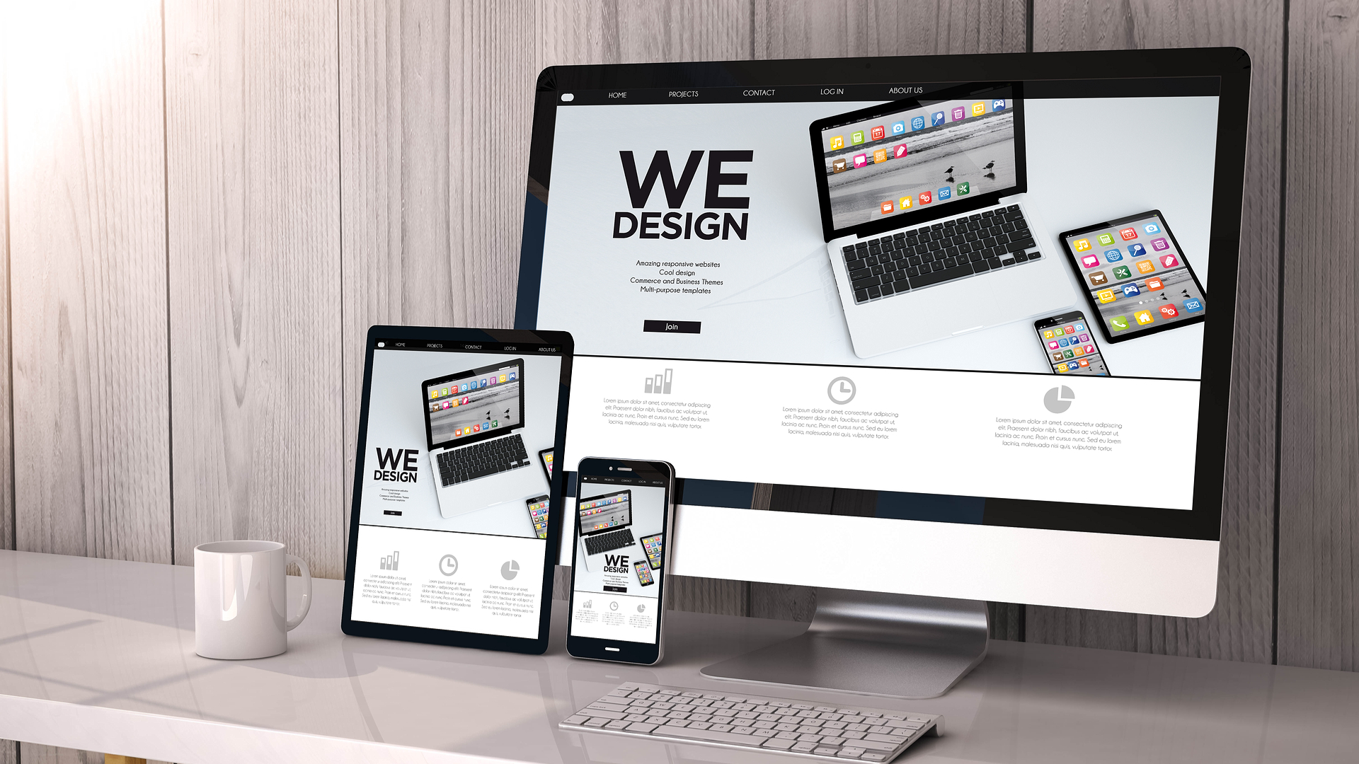 Why you need a responsive website invictus studio blog for Architect website design