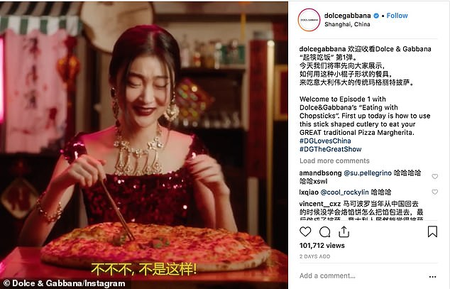 d & g chinese